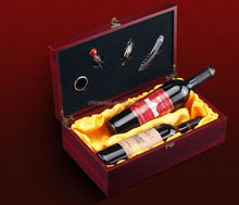 Wooden Wine Boxes ,Custom Design Wine box ,for brand names of Red wines packaging