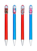 Original idea company branded promotional gifts pens designed with production shape clip