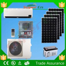 48v 12000btu wall mounted solar air conditioning, solar energy air conditioning low voltage