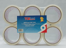 Bopp tape in good sticking power (SGS and ISO certificates)