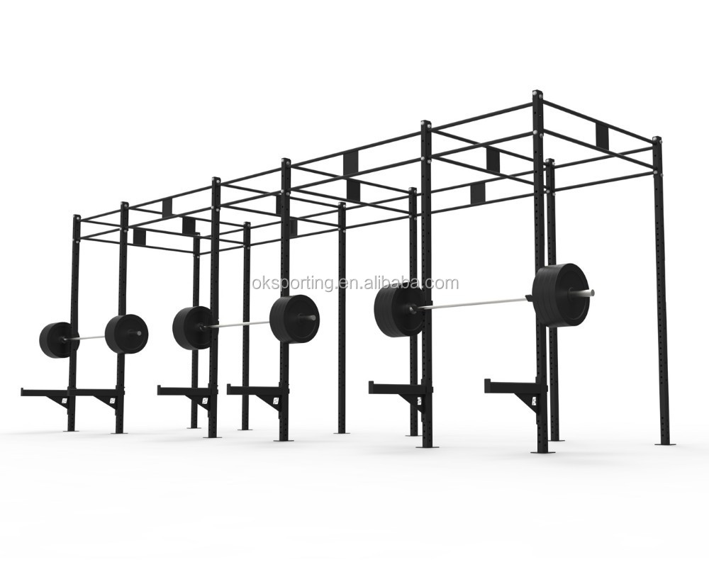 Multi function crossfit station rack system pull up rig