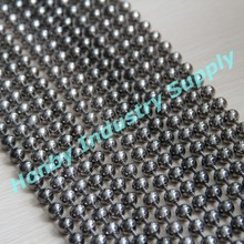 10mm Splendid Metallic Gunmetal Metal Bead String Curtain