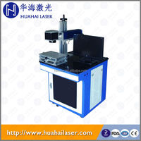 20w Desktop air cooling fiber laser marking machine for watch