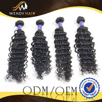 Top quality natural color hot sale cheap and fine human hair 8-26inch virgin Malaysia remy hair Deep curly