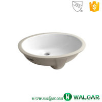 Chinese design high quality best sale white porcelain sink for bathroom