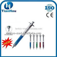promotional injection metal syringe pen