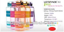 Eco-friendly magican water bottle