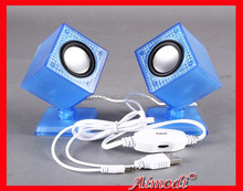 Mini Portable Stereo Super Bass mini Speaker for mobile phone/tablet pc/computer/mp3