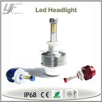 New arrival H1 H7 H3 H8 H9 H11 H16 9005 9006 H4 H13 9004 9007 auto led headlight bulb, lifespan motorcycle and car led headlight