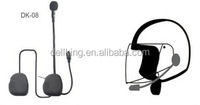 Hands Free Headset Walkie Talkie Wireless Earpiece with Microphone and PTT