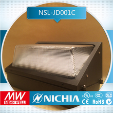 free sample ip65 90w outdoor lamp outdoor light use led wall pack lighting fixtuers dlc for out door