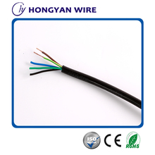 China cable supplier offering high quality H05VV-F Flexible electrical cable
