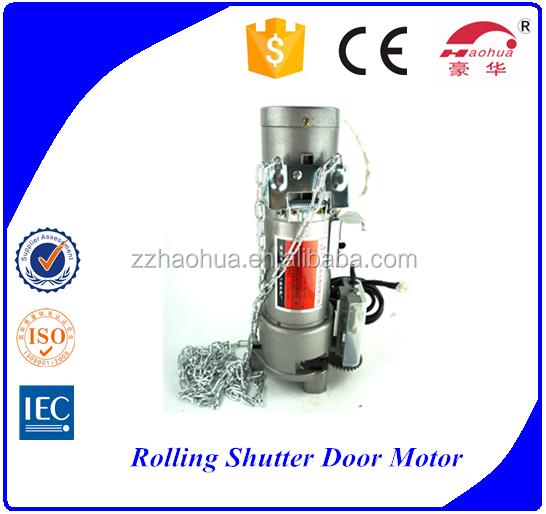 600kg backup battery dc24v rolling shutter door motor for Roller shutter motor price