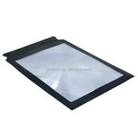 full page magnifier BHM-10 fresnel lens solar concentrator , acrylic lens