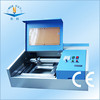NC-S40 CE wood service card machine name tag mini laser machine portable laser machine