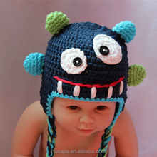 2014 New Style European Animal Crochet Baby Boy Knitted Hat