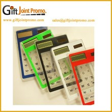 Wholesale Customized Clear Plastic Solar Calculator, Portable Calculator