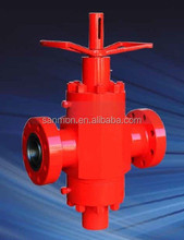 "2-1/16""~4 1/16"" Manual Rising Stem Gate Valves for Wellhead with API 6A NACE MR0175"