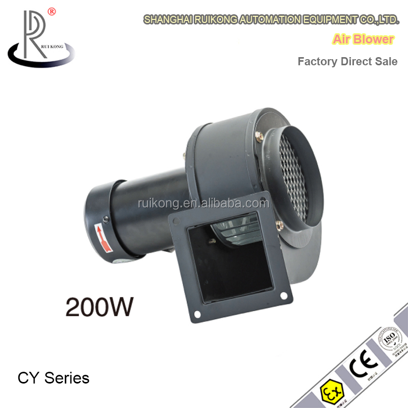 High Pressure Small Blowers : Factory direct sale high pressure small size centrifugal