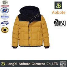 2015 New Style Boy Short Down Jacket,Very Warm Winter Coat,Windproof Down Parka