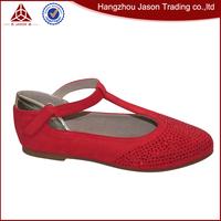 Red Or Black Microfiber Upper Material Kind Sweet Honey Girl Shoes