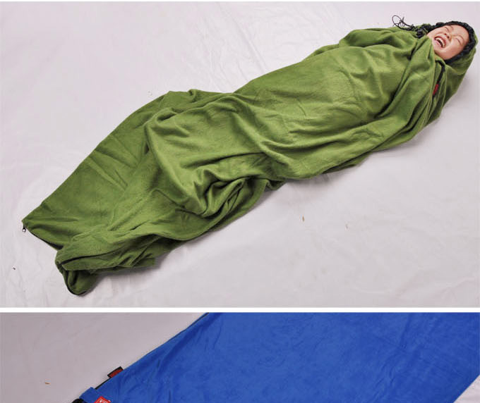 High Quality Super Soft Fleece Fabric Anti Pilling Warm And Comfortable Envelope Hooded Modular Structure Can Be Using As A Separate Sleeping Bag Or