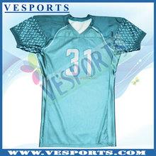 100% Polyester American football jerseys