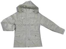 Apparel Stocklots Ladies Padded Jacket lady jacket apparel stock