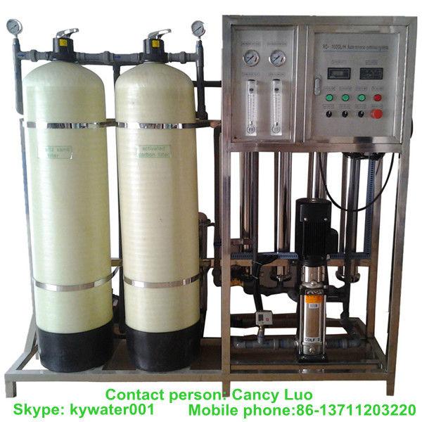 tratamiento de agua de ósmosis inversa para beber / agua pura