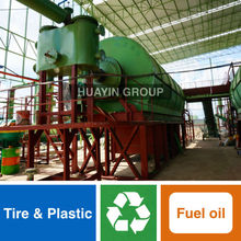 Huayin Brand 10 Ton/Day Used Tires Recycling Equipment With ISO&CE&SGS