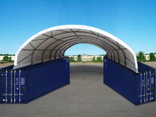 YY2640C Steel Container Canopy