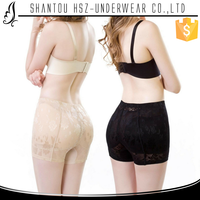 HSZ-718 Wholesale women hip up latex rubber panties high quality sexy see through panties push pu adult rubber panties