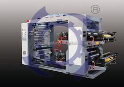 2 color plastic bag Flexographic Printing Machine