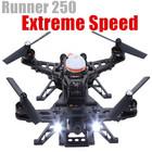 2015 corredor de 250 zangão piloto câmera design modular HD levou correndo extrema velocidade GPS helicóptero não tripulado