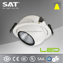 Rotable 30W downlights natural white 4000K recessed led