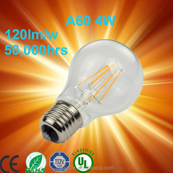 Ul list Energy Star Certified distributors canada e26 120v 2400K ETL a19 filament led bulb/energy star a19 led light bulb