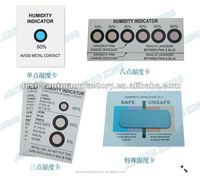humidity indicator card contractor for sud-chemie and meet 3M standard