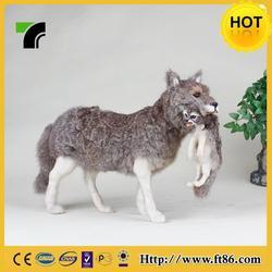 Alibaba china antique plush big wolf toys