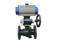 cheap price Two Piece GB Series Flange Ball Valve high-tech control valve manTwo piece ball valve flangeking industrial company