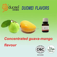 High concentrate PG/VG mixed E guava mango liquids flavour
