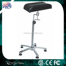 Adjustable height massage makeup tattoo stool tattoo armrest, new design tattoo arm rest, leg rest chair with cheap price