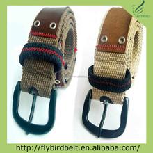 eyelets leather split fashion man belt