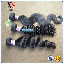 artificial hair deep curly indian hair highlighted indian remi human hair machine weft