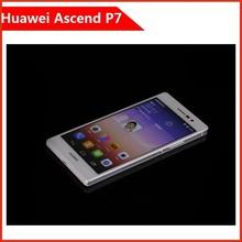 100% Original Huawei Ascend P7 Cell Phones Kirin 910T Quad Core Android Smart Celular 2GB RAM 16GB ROM 5.0 Inch FHD 13.0MP