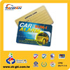 Wholesale blank customized plastic store loyalty cards