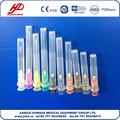 Desechable estéril hipodérmicas veterinarias de aguja para un solo uso