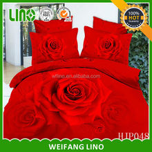 bridal bedding set/super king bedding comforter sets/king size 3d bedding set