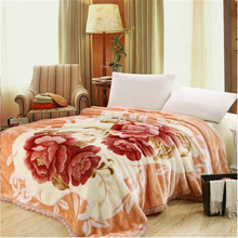 Polyester Mink Light Weight Blankets Single and Double Bed Blanket