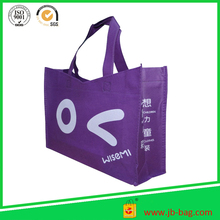 Purple Recycle Shopping Bags Reasuable Non Woven Bags for Shopping