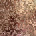 EC15H5,dourada mosaico cerâmico